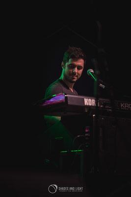 Cosmin Farcaș in concert la Open Air Blues Festival Brezoi, Valcea editia 2017