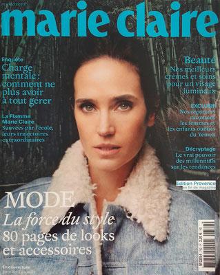 Marie Claire Octobre 2017
