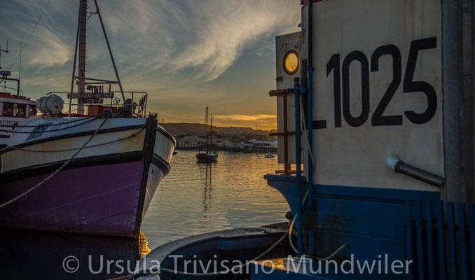 Frühmorgens am Fischerhafen Lüderitz