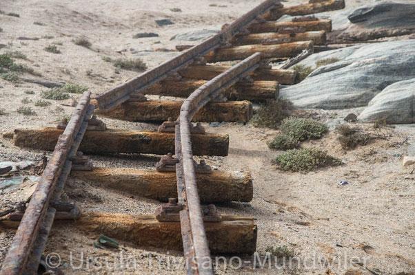 diese Schienen führen nirgendwo hin.