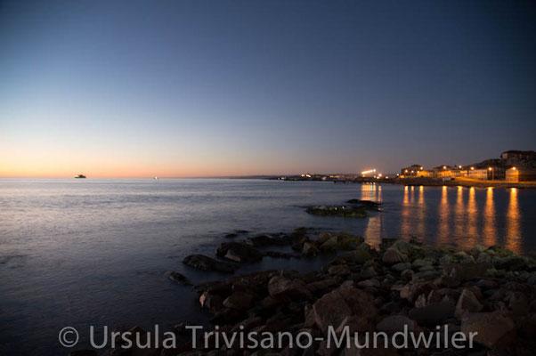 Lüderitz in der Nacht
