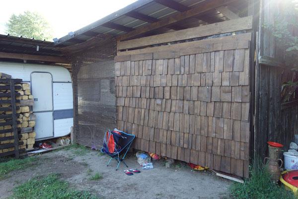 2. versteckter Wohnwagen