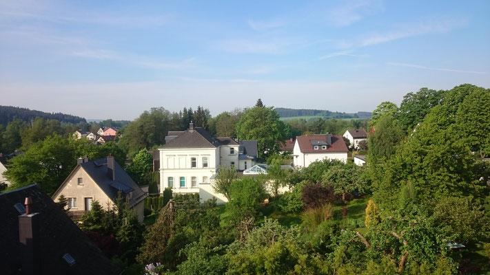 Balkonblick von Caro