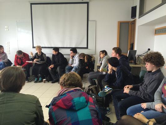 Ein Zeitzeugentreffen in Yad Vashem