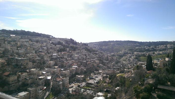 Blick vom Zionsberg Richtung Hinnomtal