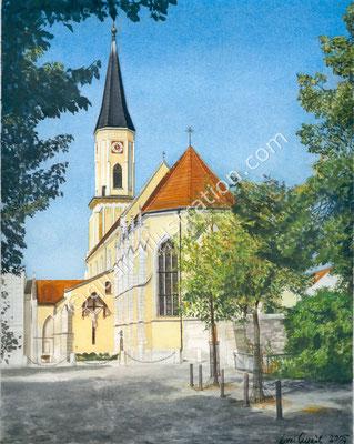 Maria Himmelfahrt Kirche Kelheim