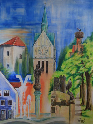 Neustadt in Farbenpracht - Auftrag von der Raiffeisenbank Neustadt