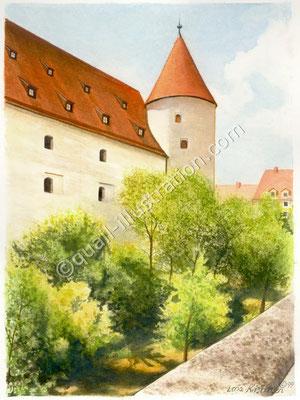 Ingolstadt gouache