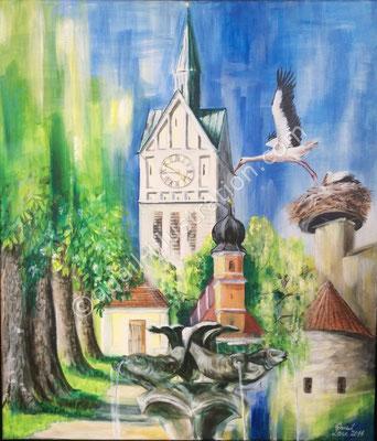 Neustadt a.d. Donau Collage - Besitz der Stadt Neustadt