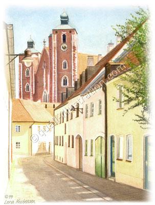 Kirke Münster Ingolstadt
