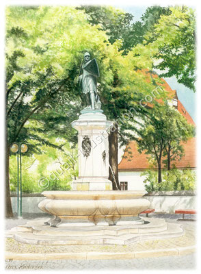 Fountain in Ingolstadt