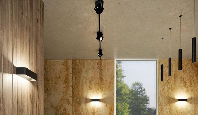 ATMOS LED Pendelleuchte besticht durch ihre klare Formgebung. Komplett aus Aluminium gefertigt