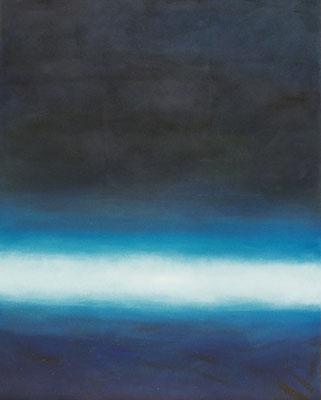 Nachtflug / Öl auf Textil / 120 x 150cm / 2015