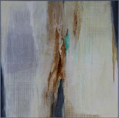Der Bäumige / 120 x 120 cm / Acryl auf Textil / 2020