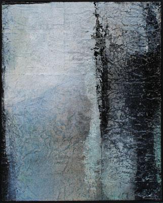 Schatten / 80 x 100 cm / Mischtechnik / 2021