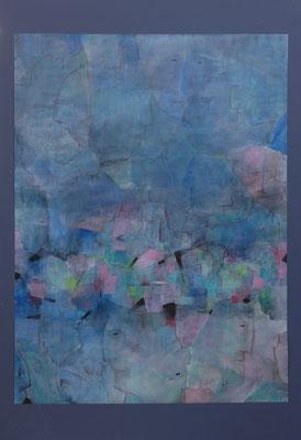 Berliner Köpfe / 82 x 112cm / Acryl auf Papier / 2017
