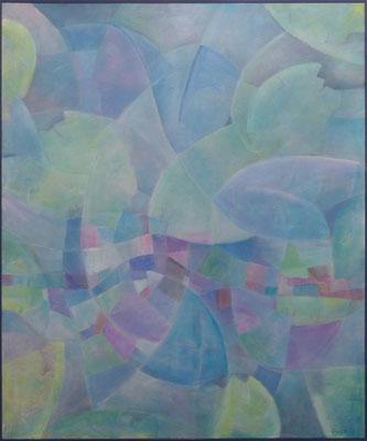Bekopftes / Acryl auf Textil / 100 x 120cm / 2018