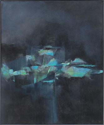 Commedia dell'arte / Mischtechnik / 100 x 120cm / 2018
