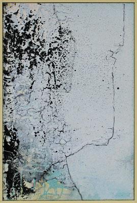 Erosion / 42 x 62cm / Mischtechnik / 2021