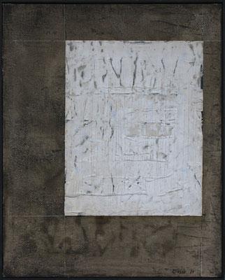 Zeichen / 80 x 100cm / Mischtechnik / 2021