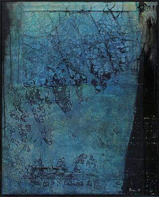Dickicht / 80 x 100 cm / Mischtechnik / 2021