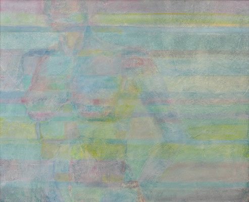 Madame / Acryl auf Malplatte / 75 x 92cm / 2015