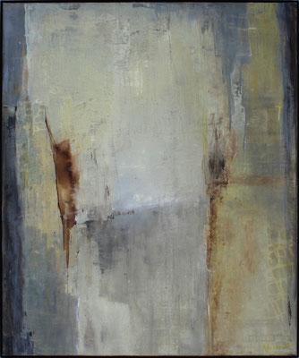 Komposition III / 100 x 120cm / Mischtechnik / 2021