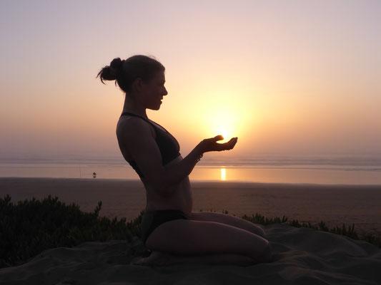 Sonnenuntergang in Agadir - hello-balance
