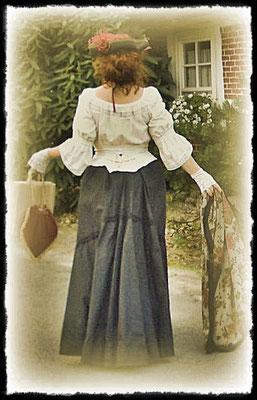 """""""Flared Skirt"""" 1890"""