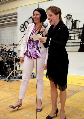 Roenig mit Dr. Susanne Brandsteidl, Amtsf. Präsidentin des Stadtschulrats, 80 Jahre BS Bau, Wien