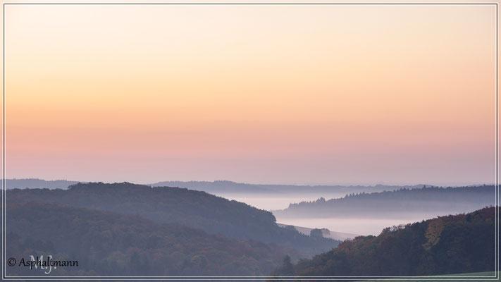 Herbstmorgen in der Nähe von Tauberbischofsheim