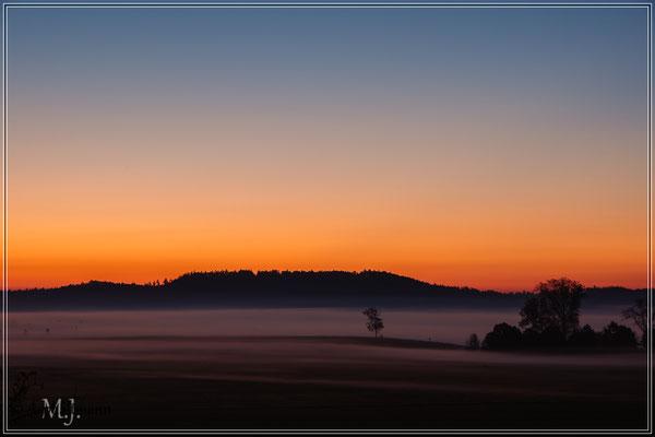 Morgens auf der A7, Parkplatz Kurzmandl Ost