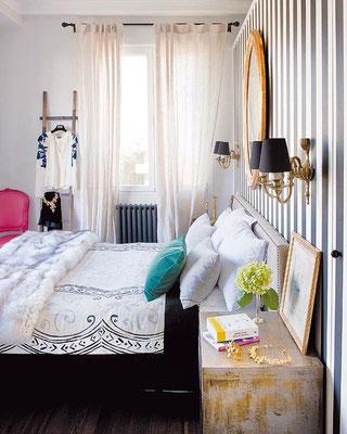Dormitorio foto P.Zuluoaga/I.Sentmenat