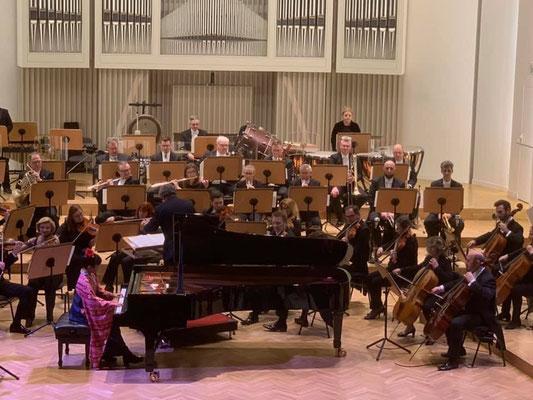 60人のオーケストラとのコンチェルト。貴重な体験がいっぱい!