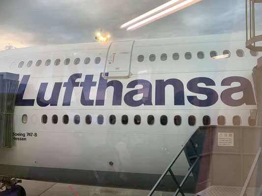 ルフトハンザ航空で行ってきまーす!