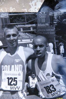 Carlos Gachanaja holt Bronze bei den DM in Frankfurt und bei den Junioren EM über 400m
