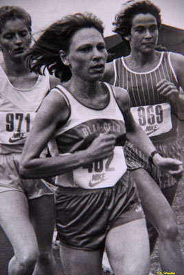 Erika Althaus von 3000m bis Marathon Spitze bei den Seniorinnen