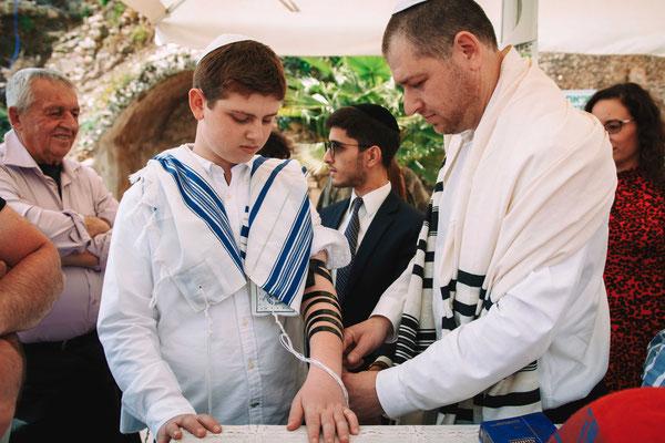 טקס בר מצווה רפורמי בכותל - עזרת ישראל