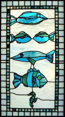 vitrail poisson