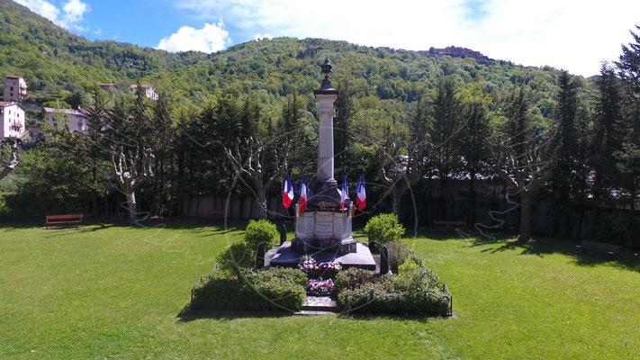 Momument aux morts, Roquebillière