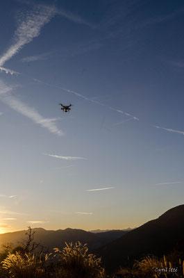 Drone en vol, ©Cyril Itté