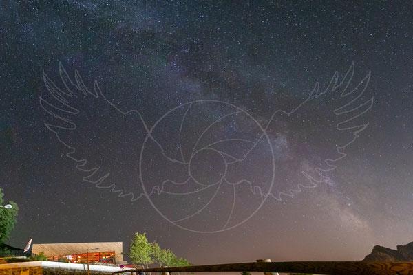 La Station Thermale de Roquebillière sous les étoiles
