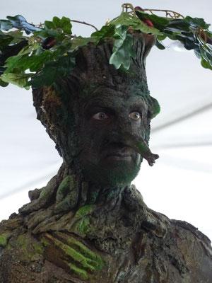ich bin Groot. Die Maske dieses Walking Act war, im wahrsten Sinne des Wortes, fantastisch