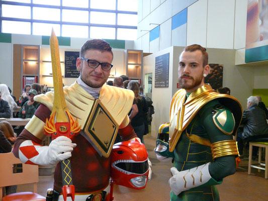 Hier trafen wir auf die Jungs von Red Power Power Ranger Germany...
