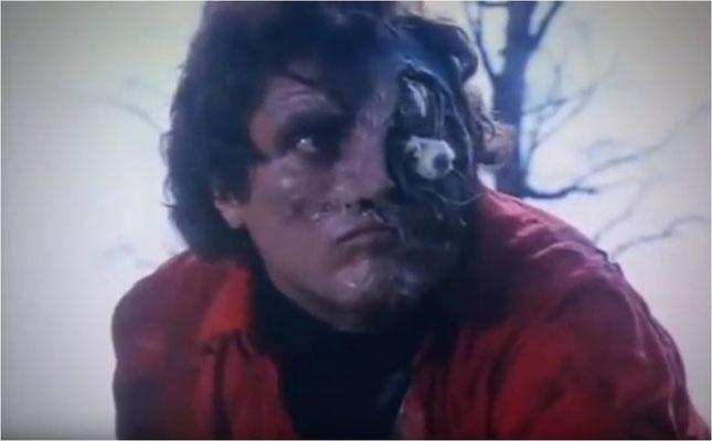 das Art Department unter Sergio Canevari hat mit der Maske des Androiden keine schlechte Arbeit geleistet, an der Gesichtsmaske von Schauspieler Rodrigo Obregon gibt es sogar mehrere bewegliche Teile, u.a. das herausstehende Auge