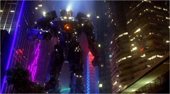 die Mechs und Monster im Film sind wirklich beeindrukend, damit hat es sich in weiten Teilen allerdings leider auch schon