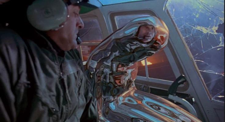 """...sondern u.a. auch an den Techniken, mit denen der T-1000 animiert wurde. Diese wurden bereits im 1989 entstanden """"The Abyss"""" eingesetzt"""