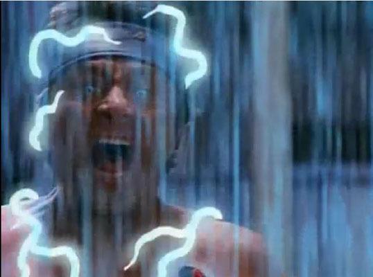 während Bill Bixbie David Banner spielte, gab Lou Ferrigno den Hulk