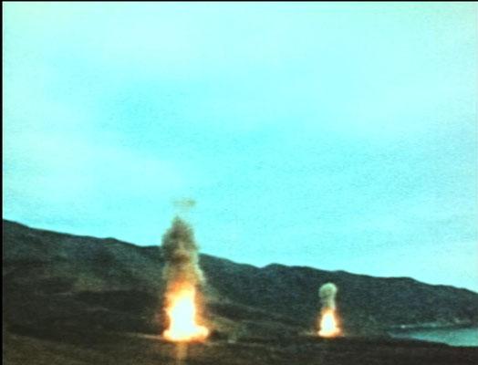 Der Tag vor dem Tag danach: In Kansas werden Langstrecken-Atomraketen Richtung U.D.S.S.R. entsand.