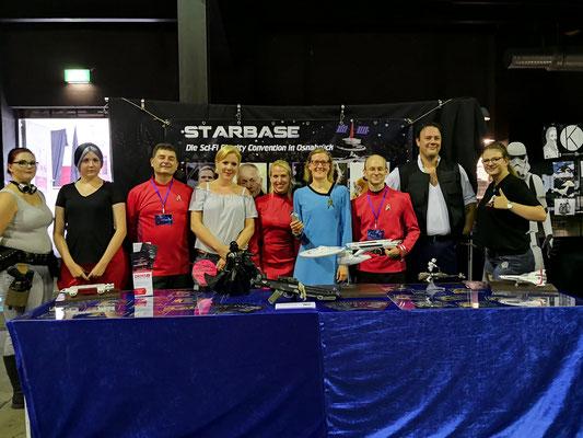 mit unseren Freunden vom Kostümclub Cantina Base 7-17 aus Münster